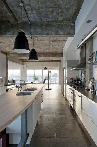 Wood-Defined Loft - лофт-трансформер от британских архитекторов