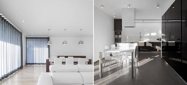 Одноэтажный дом Xieira House II в Португалии