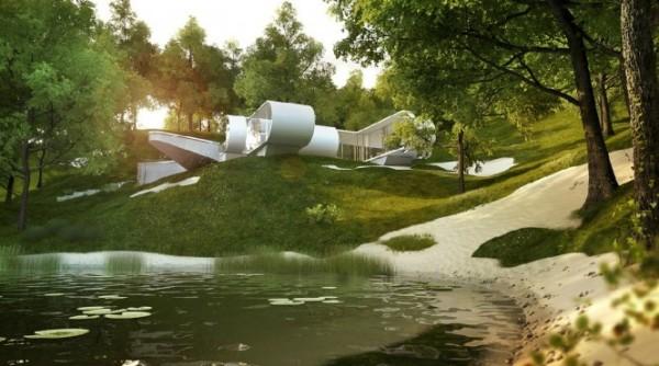 Новые материалы про дизайн интерьера.  Современная архитектура и интерьер от...