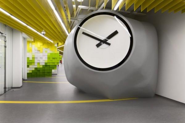 Yandex Office II – новый офис компании Яндекс от Za Bor Architects