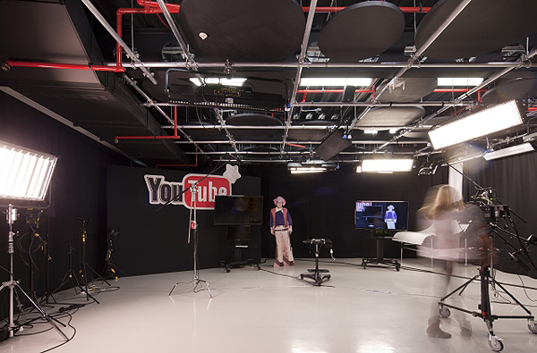 Новый офис YouTube в Лондоне