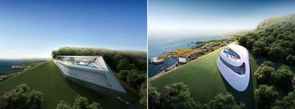 Концепты для нового курорта от Захи Хадид (Zaha Hadid) в Хорватии