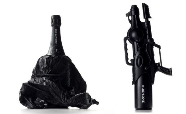 Zarb - голландское шампанское с нетрадиционным оформлением от THEY