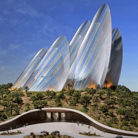 Проект нового здания в рамках национального музея Zayed National Mueum в Абу Даби от Foster + Partners