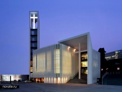 Здание Zhongguancun Christian Church в Пекине