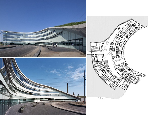 Новый офис нефтяной компании BP в Нидерландах от Group A