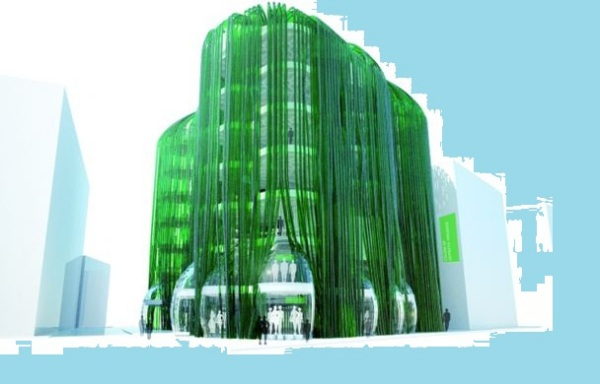 Algae Urban Farm – проект рефлексирующего эко-здания в Иране от ecoLogicStudio