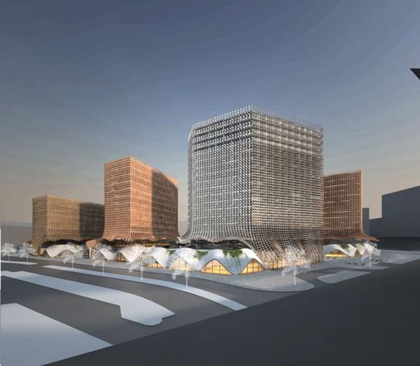 Intercity Project - проект реконструкции железнодорожного вокзала в Вене (Австрия)