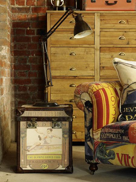Винтажная мебель Vintage Sofa и Trunk Duo
