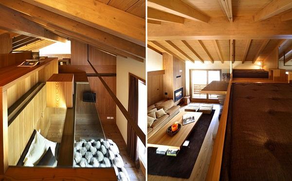 Wood Love – романтичный деревянный интерьер от итальянских дизайнеров