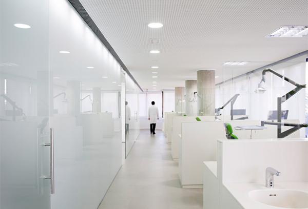 Футуристический стоматологический кабинет в Мадриде (Испания)