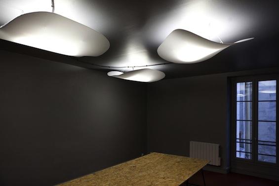 Cumulus Office - новый дизайн офиса компании Groupe Interface от Поля Кодами (Paul Coudamy)