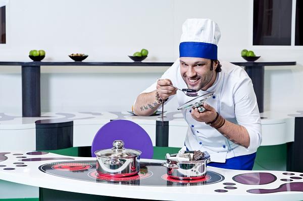 Кухонная инсталляция «Сирень» на выставке мебели MTKT Innovation 2012
