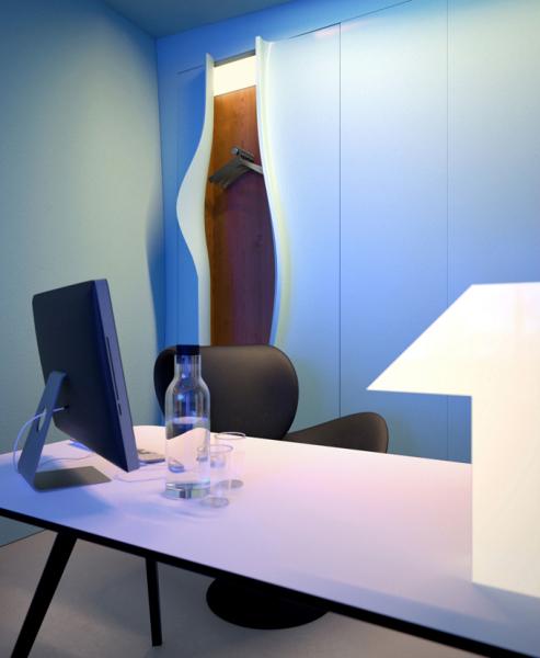 Office Azur от украинских дизайнеров