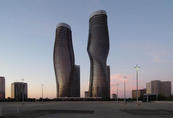 Небоскребы Absolute towers от MAD architects в Торонто (Канада)