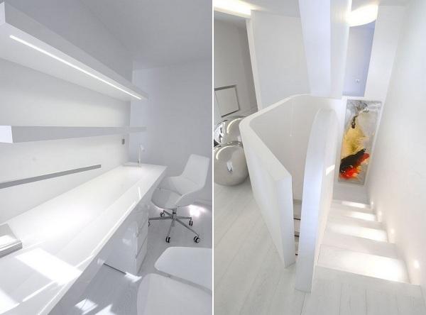 Интерьеры квартиры Sci-Fi Apartment от A-cero Architects