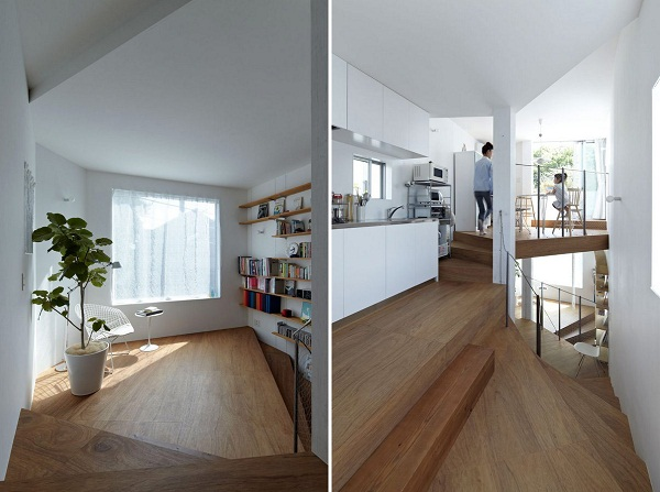 S House – лестница, обернутая в дом