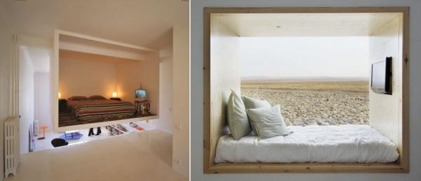 Альков – комфорт для тела и души. Идеи для оформления интерьера спальни