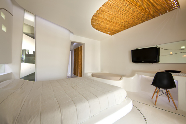 Креативный редизайн греческого отеля Hotel Andronikos