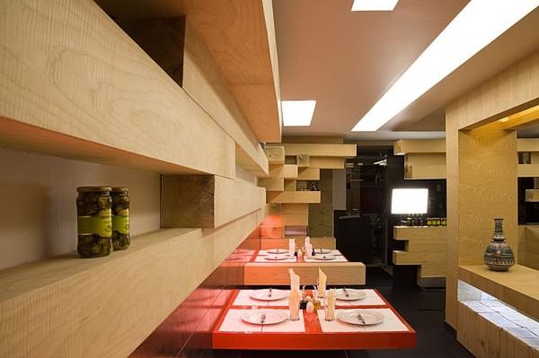 Интерьер ресторана Ator Restaurant от Expose Architecture в Тегеране (Иран)