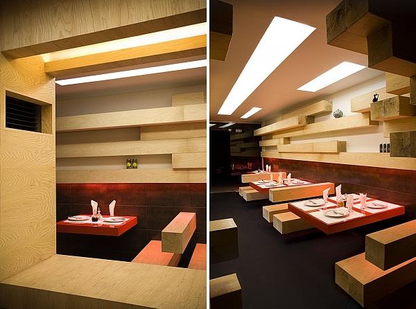 Интерьер ресторана ator restaurant от expose