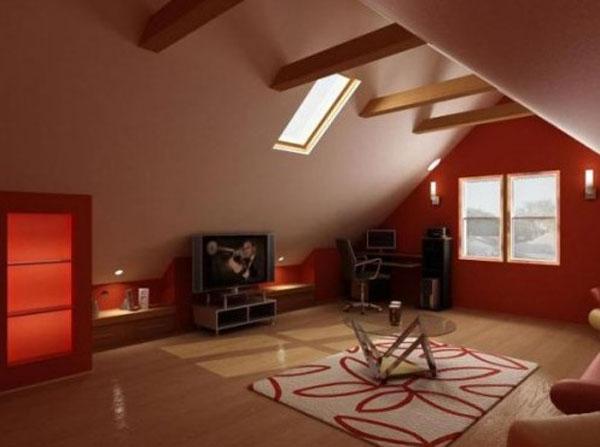 Идеи для дизайна чердачных и мансардных пространств.