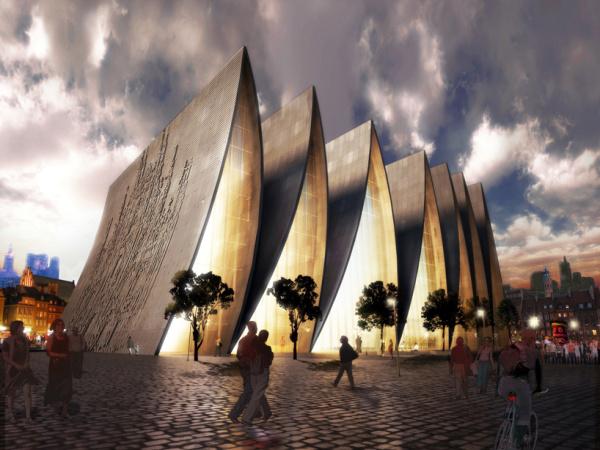 Проект собора Cathedral fold от Axis Mundi