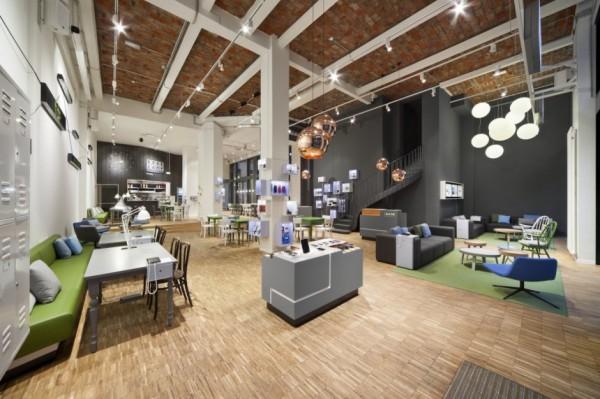 Новая штаб-квартира BASE_camp в Берлине