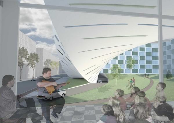 Проект жилого комплекса Inside Out от Studio Marco Vermeulen