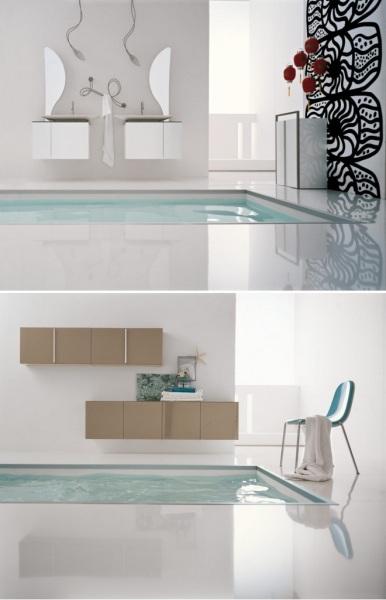 Креативный дизайн ванных комнат от Cerasa