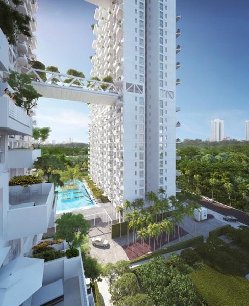 Проект кондоминиума Condominium at bishan central от Моше Сафди (Moshe Safdie)