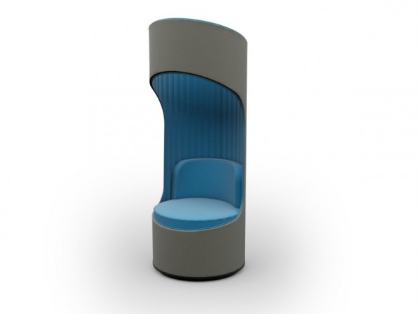 Кресло Cega – личное пространство в общественном месте