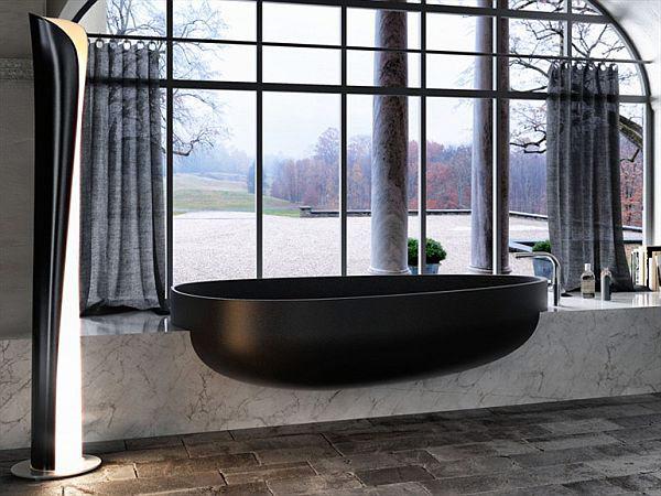 Стильная современная ванна от Claudia Danelon and Federico Meroni