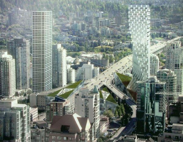 Beach + Howe tower – проект четвертого по высоте небоскреба в Ванкувере (Канада)