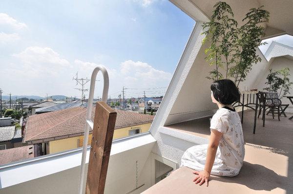 Жилой дом Montblanc house от Studio velocity в Японии