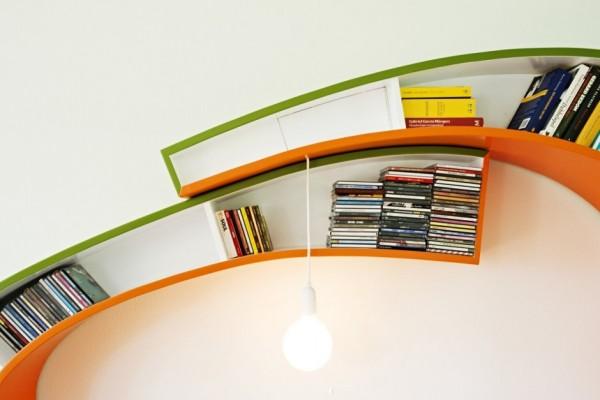 Bookworm - книжный стеллаж от голландских дизайнеров