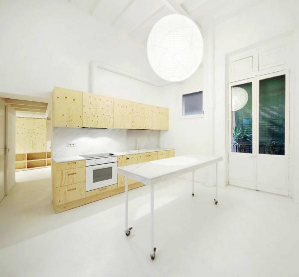 Уникальная планировка жилого пространства от испанских архитекторов
