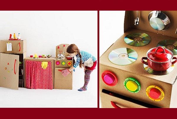 Веселый и развивающий «коробочный» дизайн для мальчиков и девочек