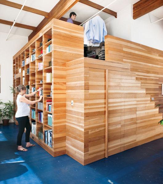 Within a Box - креативный жилой лофт в Калифорнии