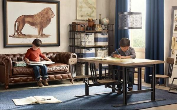 Винтажные детские от британских дизайнеров из Restoration Hardware