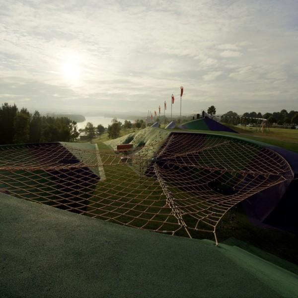 Blaxland Riverside Park – игровая площадка нового поколения в Австралии