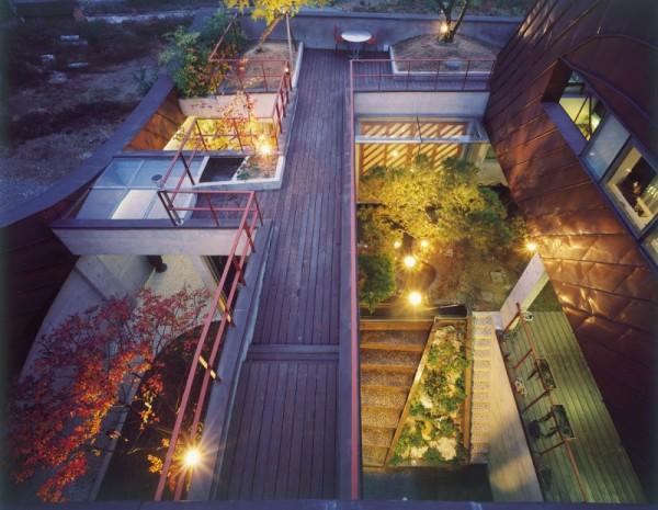 Bu Yeon Dang – жилой дом, как часть рельефного ландшафта