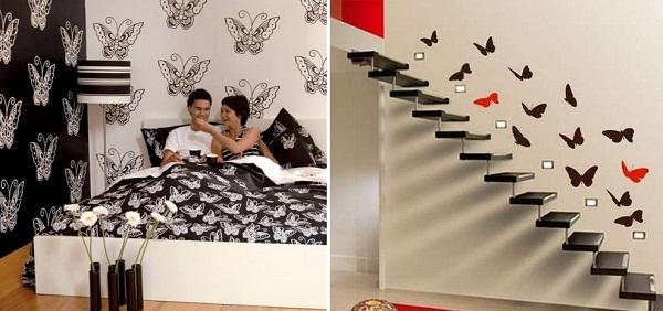 Бабочки в вашем доме. Идеи для дизайна интерьеров