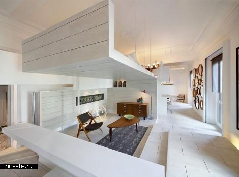 Интерьер квартиры Ceramic House в Мадриде