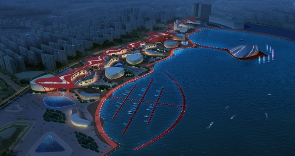 Arts Square in Daqing – проект площади культуры и искусств от китайских архитекторов