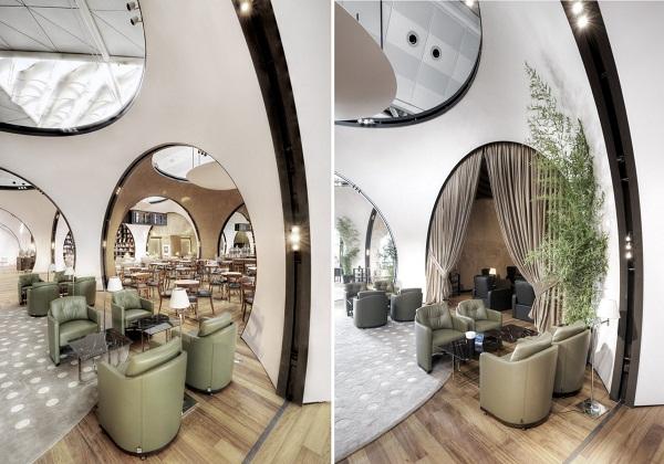 CIP Lounge - ультра-современная лаунж-зона национальной авиакомпании Турции