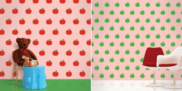 Креативные обои для детских комнат от Wall Candy Arts