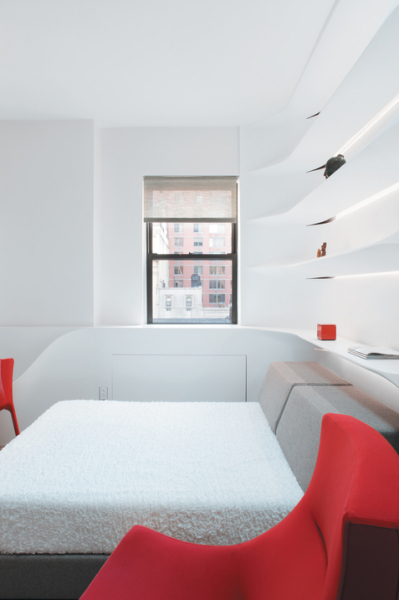 Эргономичный нтерьер от su11 architecture + design в Нью-Йорке