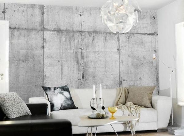 Коллекция обоев для любителей бетона от Tom Haga
