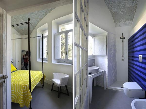 Capri Suite – мини-отель в бывшем монастыре на острове Капри
